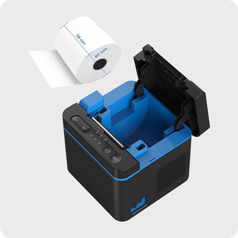 NEXGO Cloud Thermal Printer and Speaker KD90 large capacity