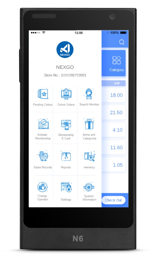 NEXGO App Store app of retail