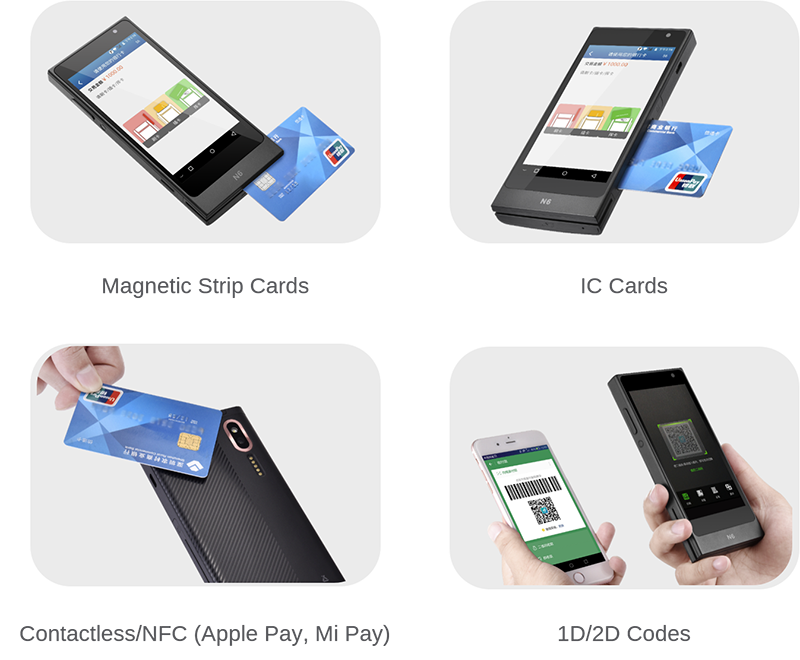 smart mini pos N6 payment methods